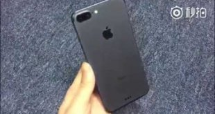 Fotos y video del iPhone 7 Plus color Space Black con Smart Connector